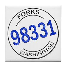 Forks 98331 Tile Coaster