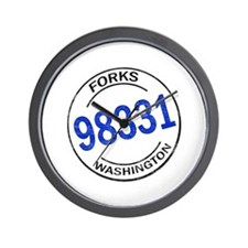 Forks 98331 Wall Clock