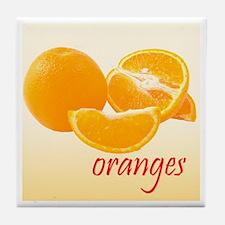 Oranges Tile Coaster