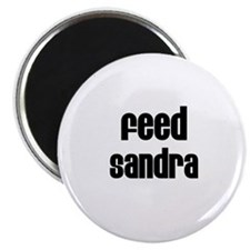 Feed Sandra Magnet