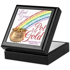 IORG-Pot Of Gold Keepsake Box