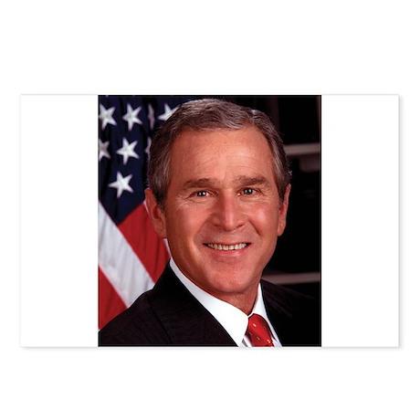 George W. Bush Postcards (Package of 8)