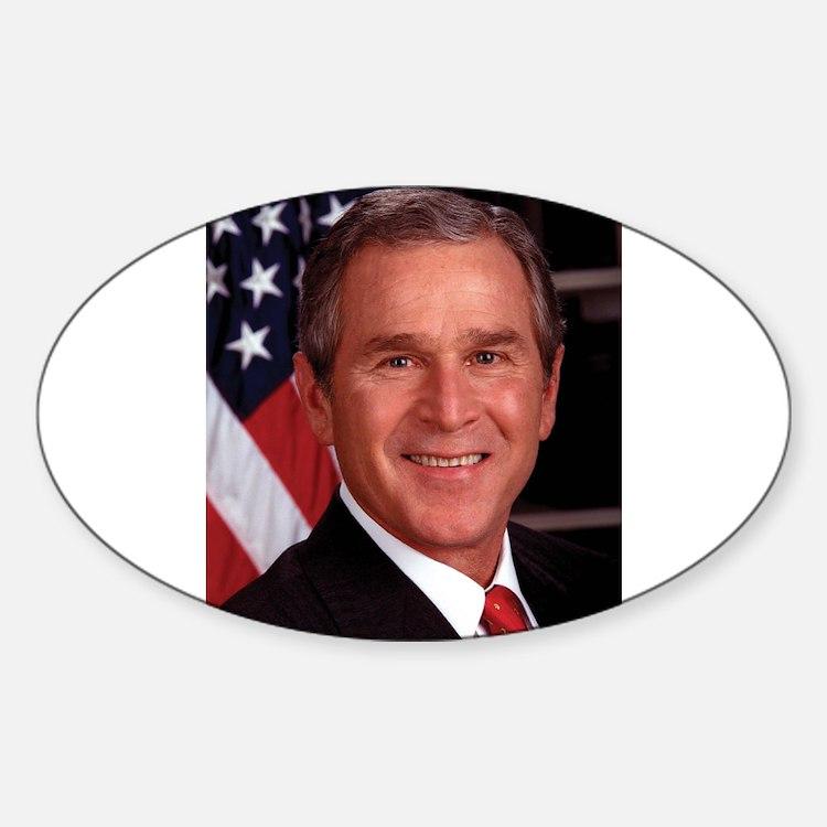 George W. Bush Oval Decal