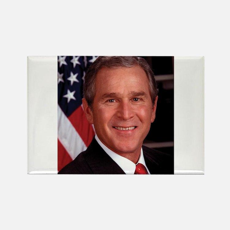 George W. Bush Rectangle Magnet