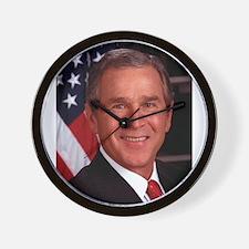 George W. Bush Wall Clock