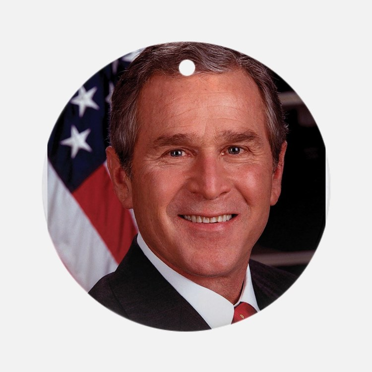 George W. Bush Ornament (Round)