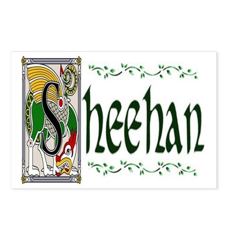 Sheehan Celtic Dragon Postcards (Package of 8)