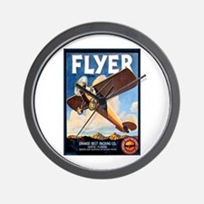 Vintage Airplane Wall Clock