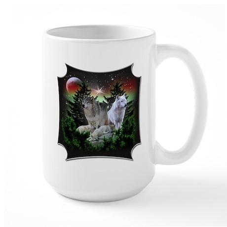 Northern Wolves Large Mug