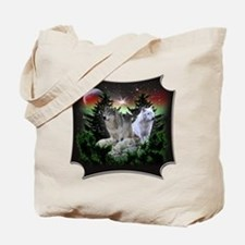 Northern Wolves Tote Bag