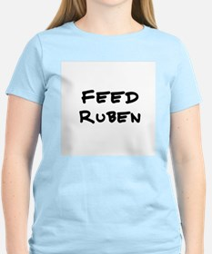 Feed Ruben Women's Pink T-Shirt