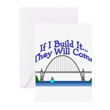 construction worker Greeting Cards (Pk of 10)