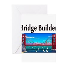 construction worker Greeting Cards (Pk of 20)