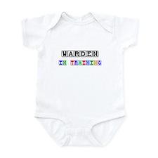 Warden In Training Infant Bodysuit