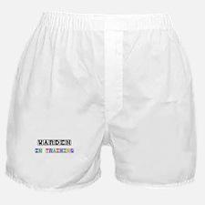 Warden In Training Boxer Shorts