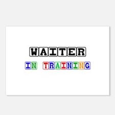 Waiter In Training Postcards (Package of 8)