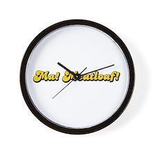 Ma! Meatloaf! Wall Clock