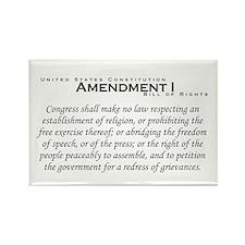 Amendment I Rectangle Magnet