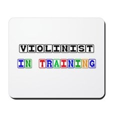 Violinist In Training Mousepad