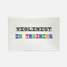 Violinist In Training Rectangle Magnet