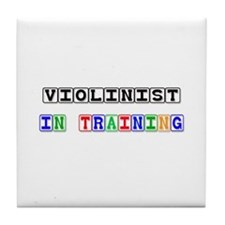 Violinist In Training Tile Coaster