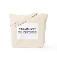 Violinist In Training Tote Bag