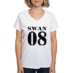 Team Swan Jersey Women's V-Neck T-Shirt