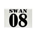 Team Swan Jersey Rectangle Magnet (100 pack)