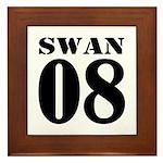 Team Swan Jersey Framed Tile