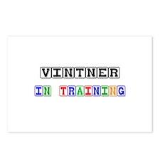 Vintner In Training Postcards (Package of 8)