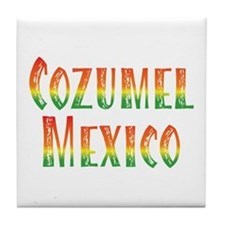 Cozumel Mexico - Tile Coaster