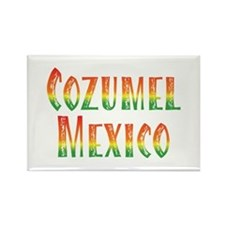 Cozumel Mexico - Rectangle Magnet