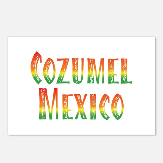 Cozumel Mexico - Postcards (Package of 8)
