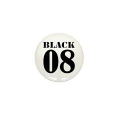 Team Black Jersey Mini Button (10 pack)