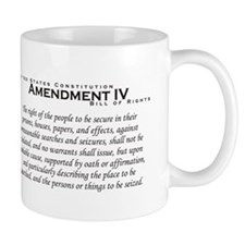 Amendment IV Mug