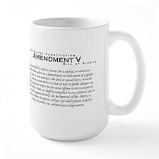 Amendment V Mug