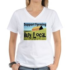 Funny Support local farms Shirt