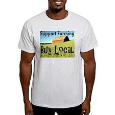 Cute Support local farms T-Shirt