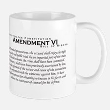 Amendment VI Mug