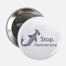 """Stop Hammertime 2.25"""" Button (100 pack)"""
