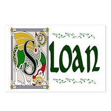 Sloan Celtic Dragon Postcards (Package of 8)