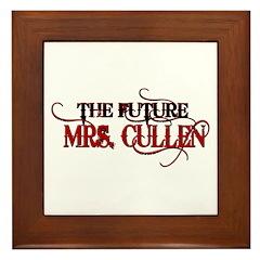 Future Mrs. Cullen Framed Tile
