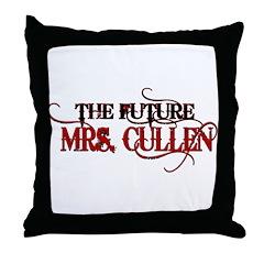 Future Mrs. Cullen Throw Pillow