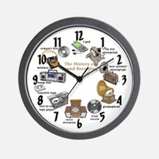 Sound Inventions Wall Clock