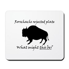 Rorschachs Rejected Plate 2 Mousepad