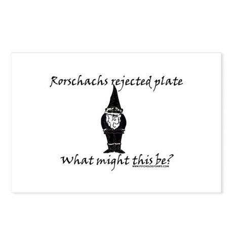 Rorschachs Rejected Plate 3 Postcards (Package of