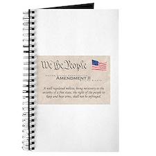 Amendment II w/Flag Journal