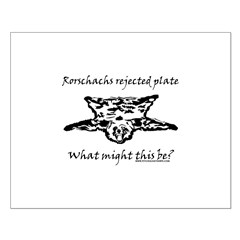 Rorschachs Rejected Plate 4 Posters