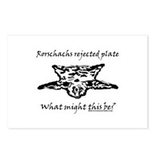 Rorschachs Rejected Plate 4 Postcards (Package of