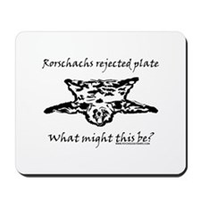 Rorschachs Rejected Plate 4 Mousepad
